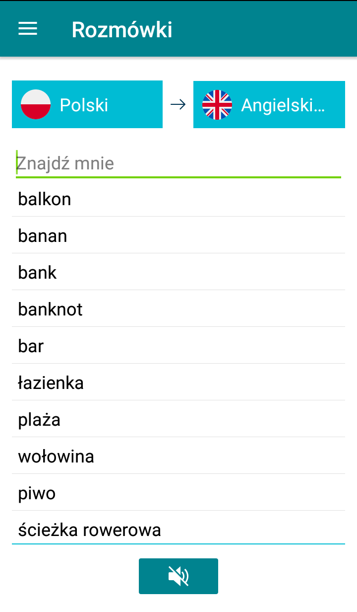 Phrasebook Screen 3